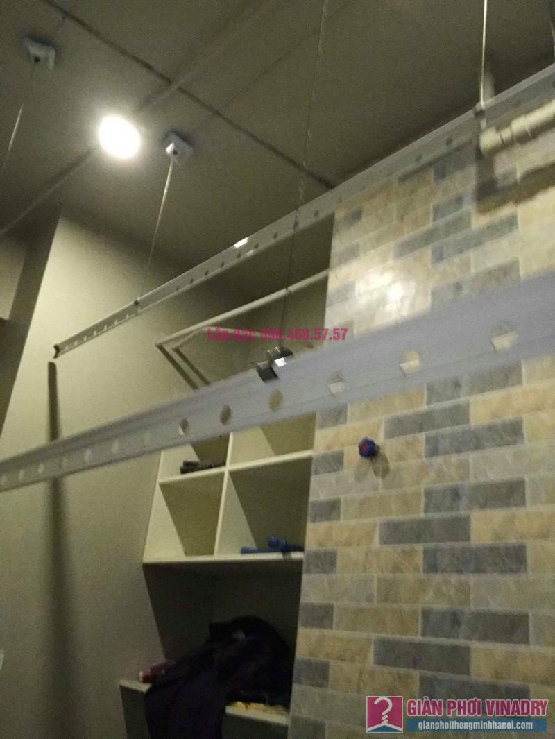 Sửa chữa giàn phơi thông minh nhà anh Vinh, chung cư N04 Hoàng Đạo Thúy, Cầu giấy, Hà Nội - 04