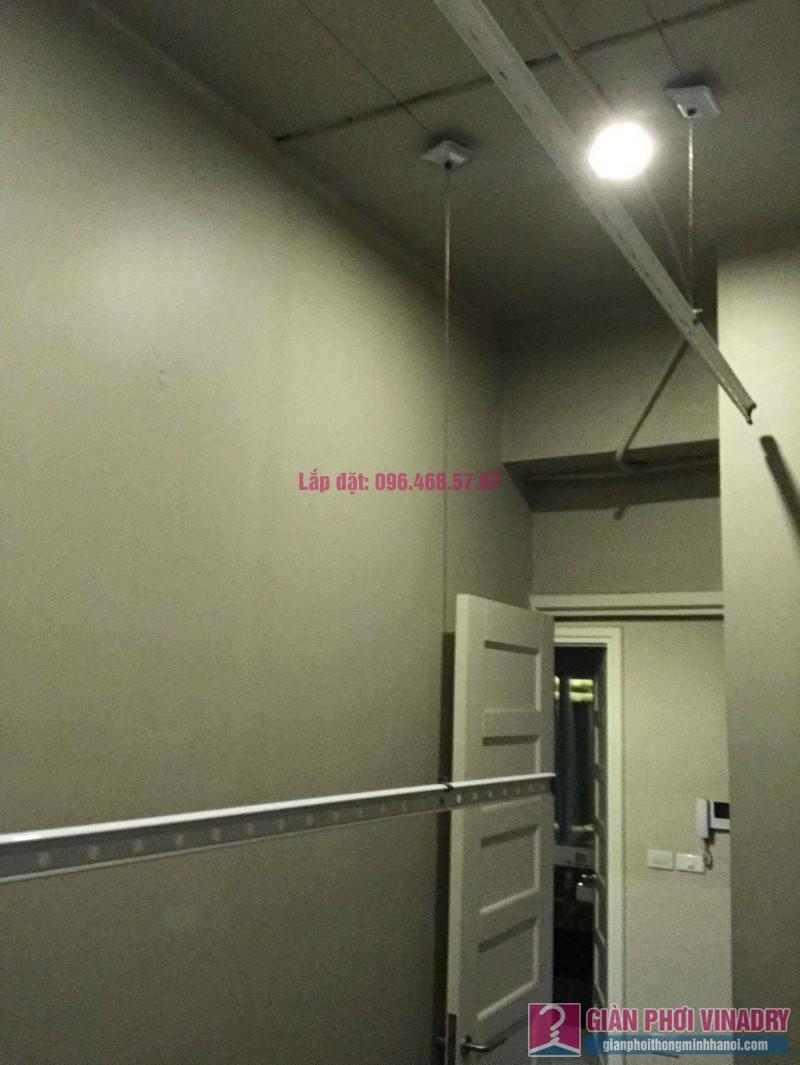Sửa chữa giàn phơi thông minh nhà anh Vinh, chung cư N04 Hoàng Đạo Thúy, Cầu giấy, Hà Nội - 05