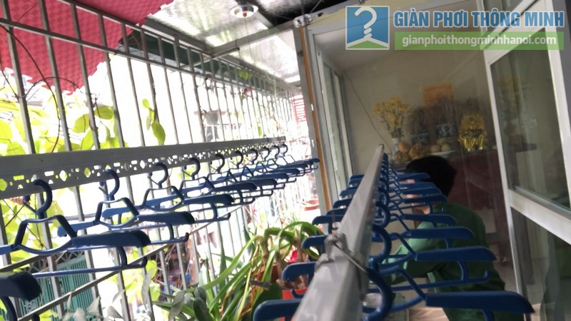 Lắp giàn phơi thông minh nhà anh Hiểu, 141 Thịnh Quang, Đống Đa, Hà Nội - 04