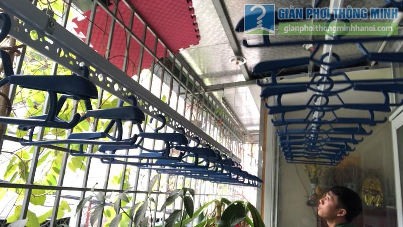 Lắp giàn phơi thông minh nhà anh Hiểu, 141 Thịnh Quang, Đống Đa, Hà Nội - 06
