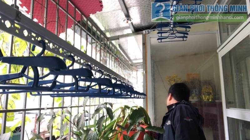 Lắp giàn phơi thông minh nhà anh Hiểu, 141 Thịnh Quang, Đống Đa, Hà Nội - 08