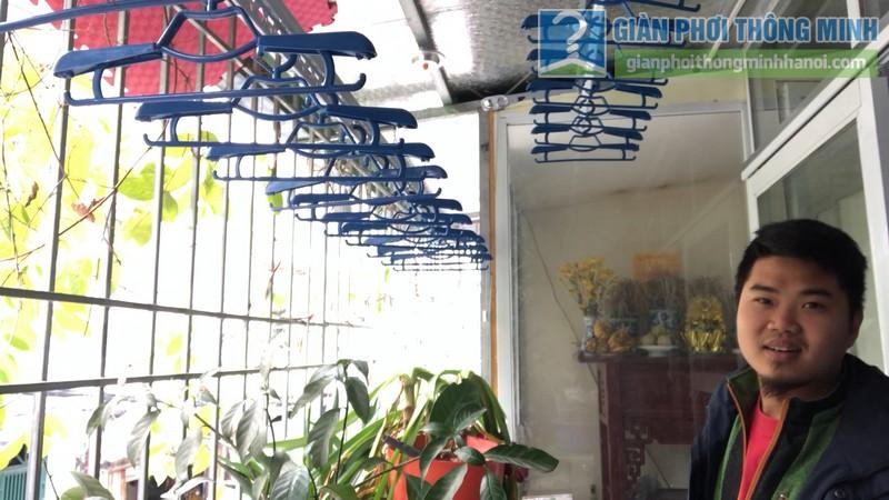 Lắp giàn phơi thông minh nhà anh Hiểu, 141 Thịnh Quang, Đống Đa, Hà Nội - 09
