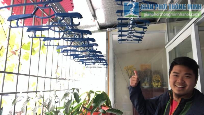 Lắp giàn phơi thông minh nhà anh Hiểu, 141 Thịnh Quang, Đống Đa, Hà Nội - 10