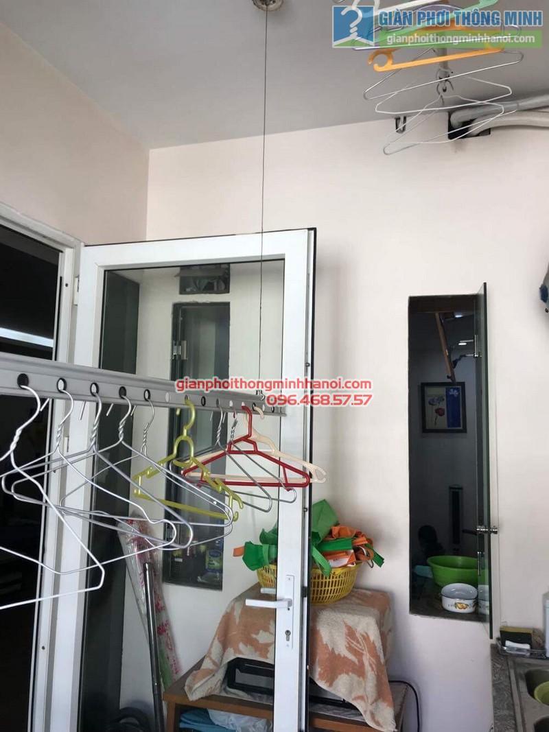 Sửa giàn phơi nhà chị Hải, KĐT Trung Hòa Nhân Chính, Cầu giấy, Hà Nội - 01