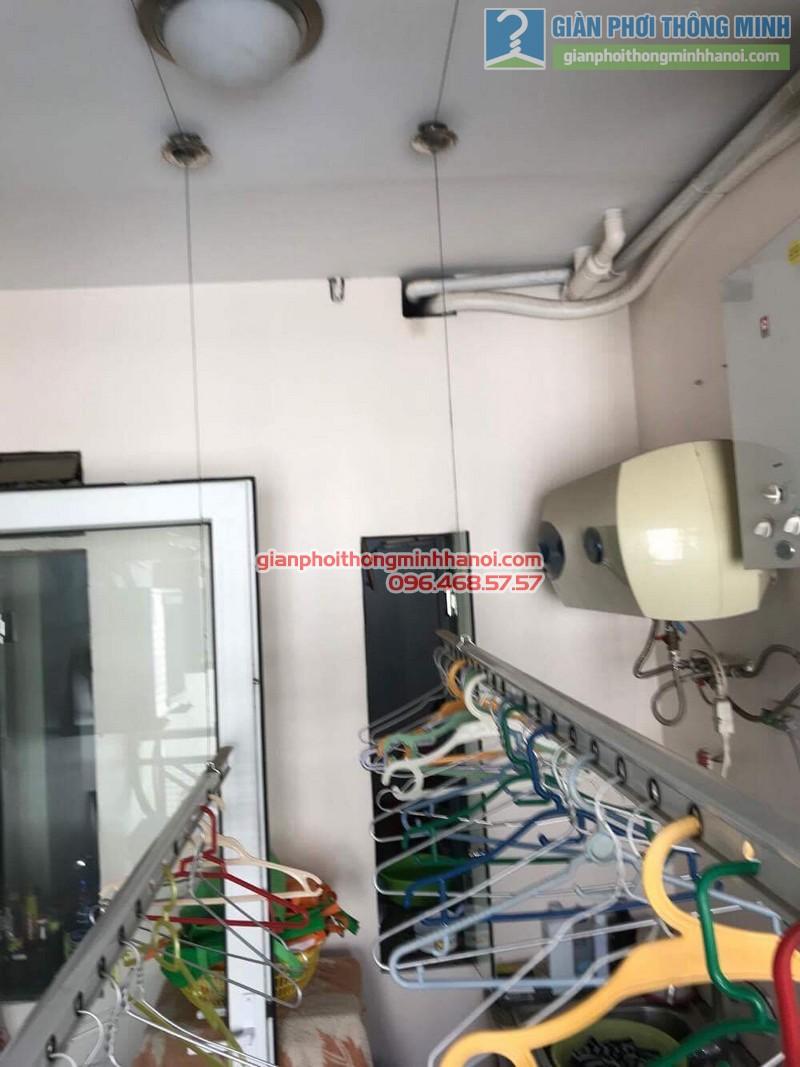 Sửa giàn phơi nhà chị Hải, KĐT Trung Hòa Nhân Chính, Cầu giấy, Hà Nội - 02
