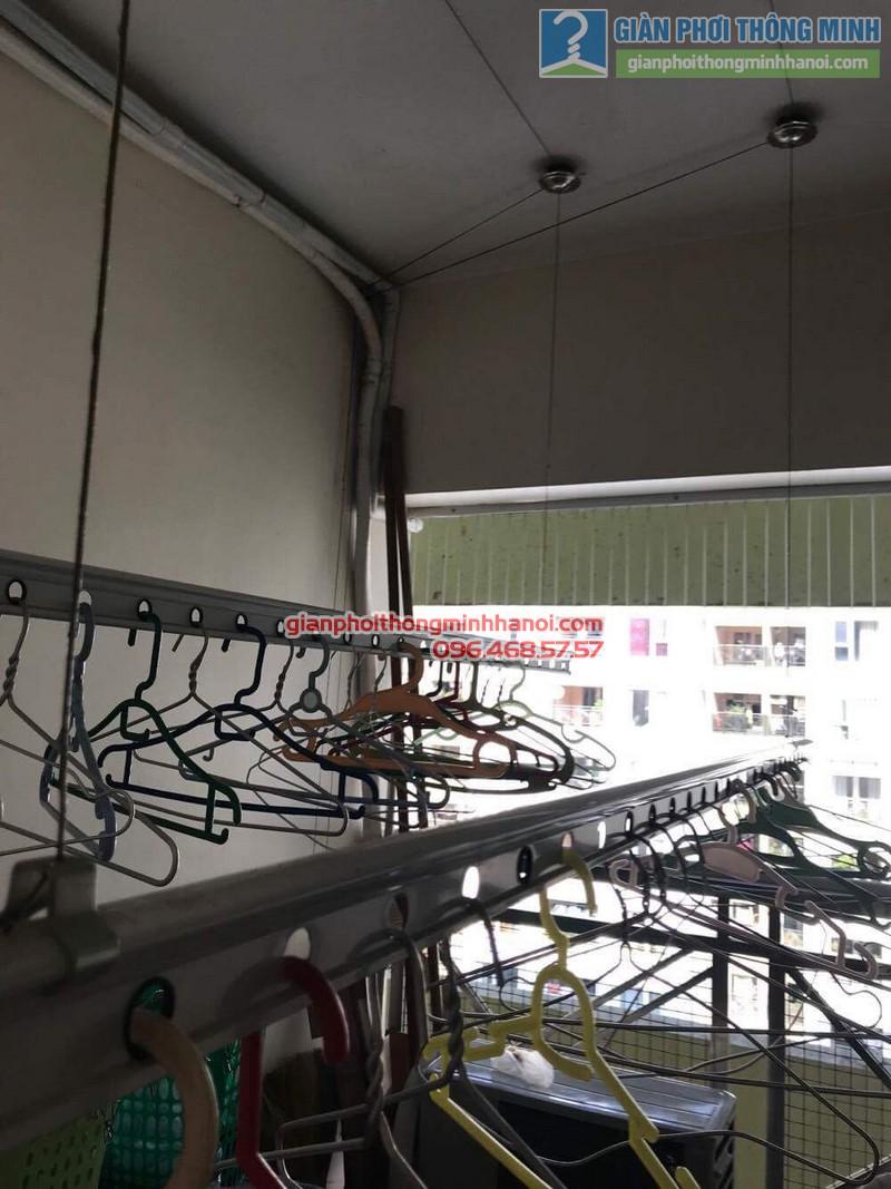 Sửa giàn phơi nhà chị Hải, KĐT Trung Hòa Nhân Chính, Cầu giấy, Hà Nội - 04