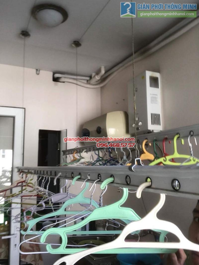 Sửa giàn phơi nhà chị Hải, KĐT Trung Hòa Nhân Chính, Cầu giấy, Hà Nội - 08