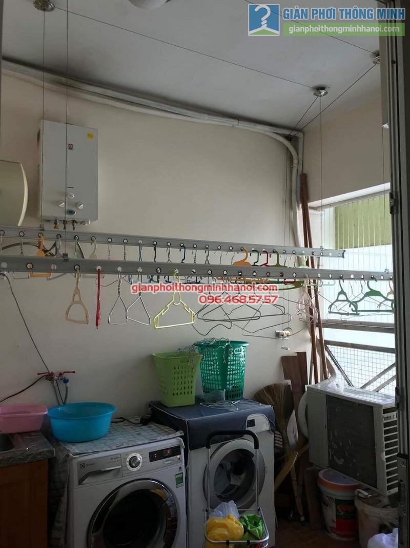 Sửa giàn phơi nhà chị Hải, KĐT Trung Hòa Nhân Chính, Cầu giấy, Hà Nội - 09