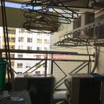 Sửa giàn phơi nhà chị Hải, chung cư 17T2 Hoàng Đạo Thúy, KĐT Trung Hòa Nhân Chính, Cầu Giấy, Hà Nội
