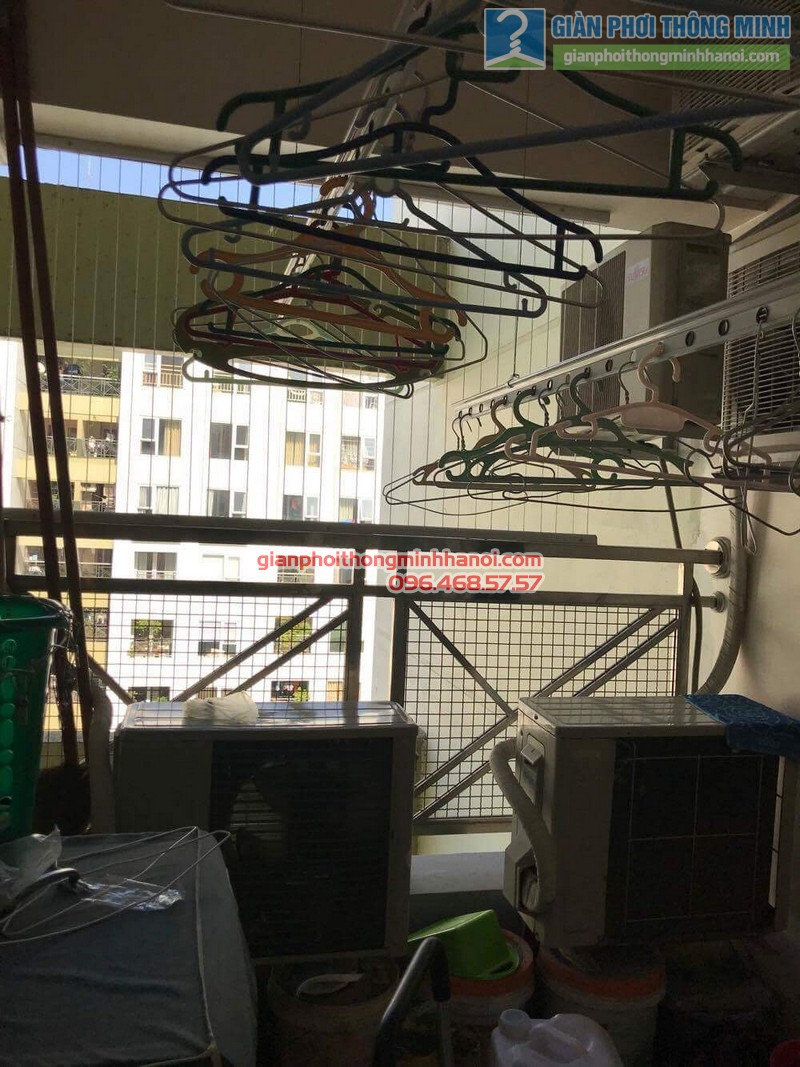 Sửa giàn phơi nhà chị Hải, KĐT Trung Hòa Nhân Chính, Cầu giấy, Hà Nội - 10