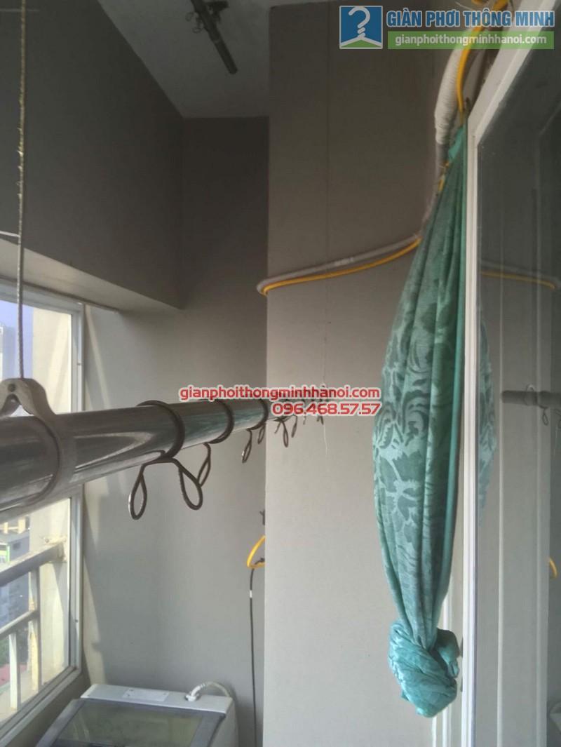 Sửa giàn phơi nhà chị Thoa, chung cư CT1 Xuân Mai Complex - 02
