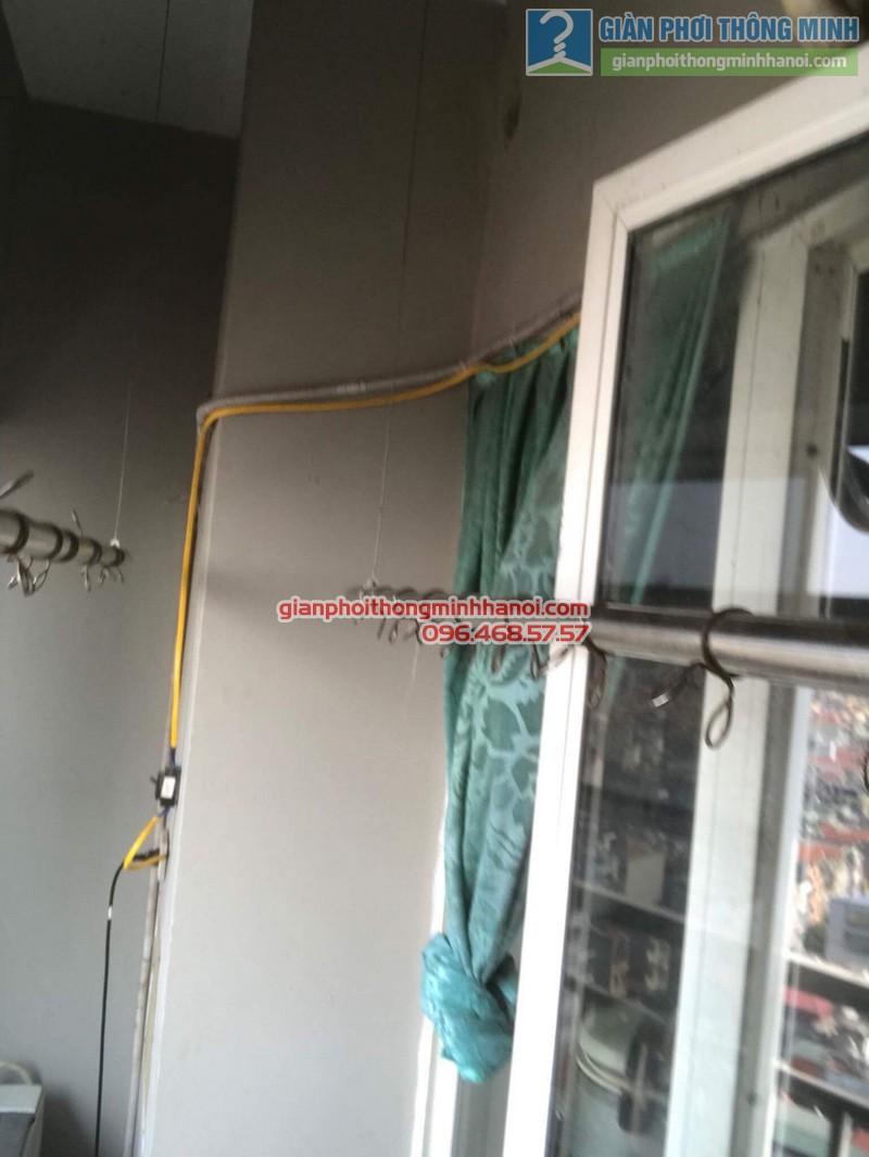 Sửa giàn phơi nhà chị Thoa, chung cư CT1 Xuân Mai Complex - 03