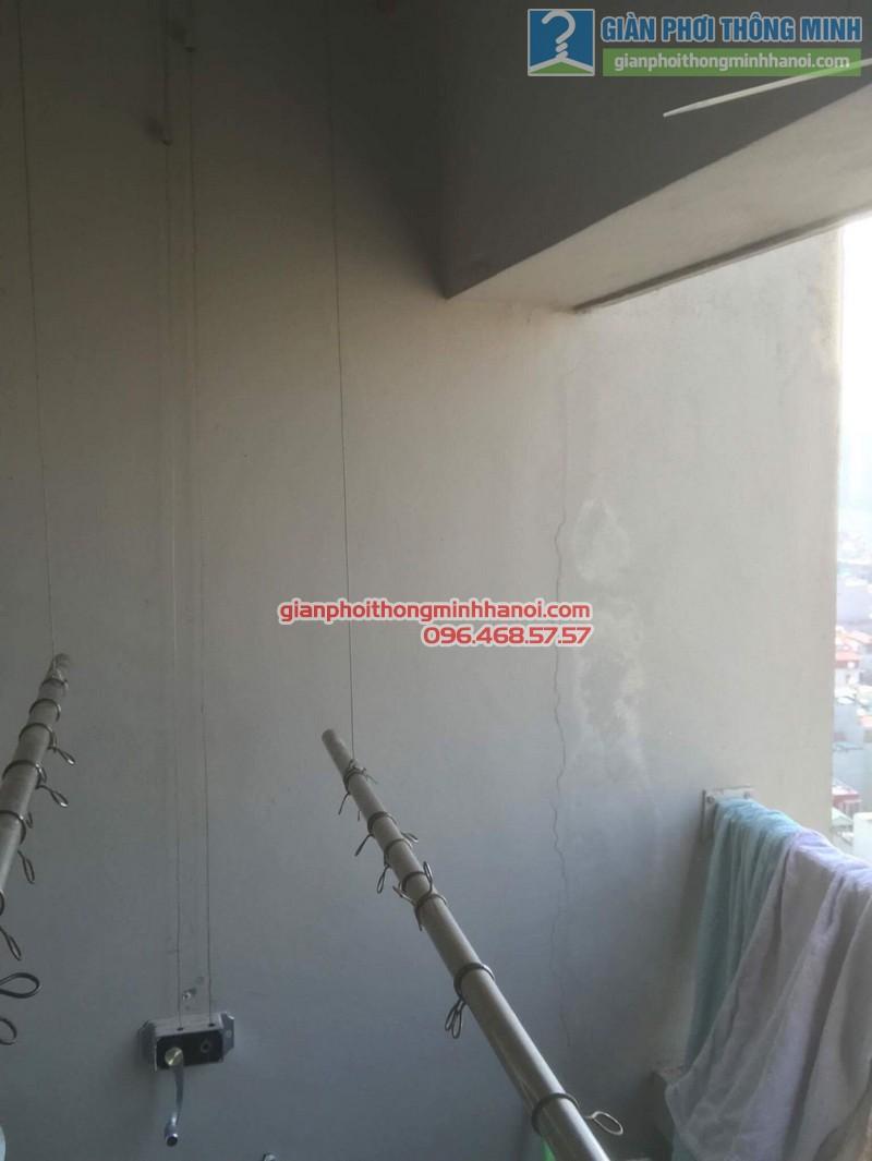 Sửa giàn phơi nhà chị Thoa, chung cư CT1 Xuân Mai Complex - 04