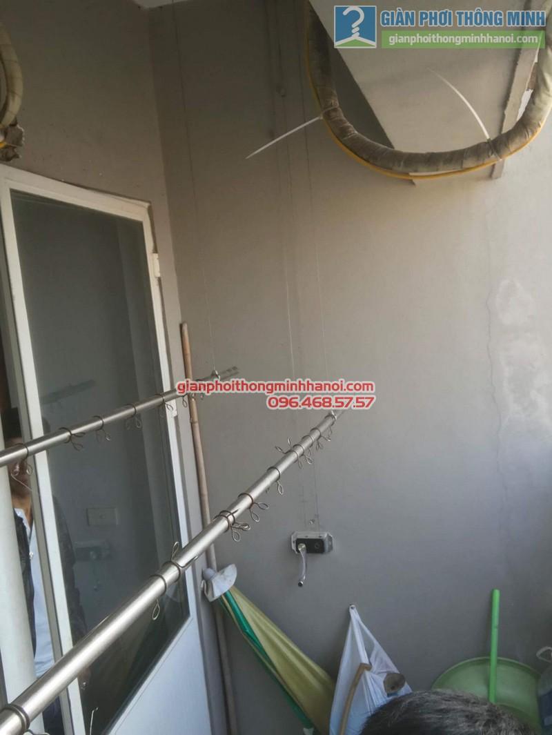 Sửa giàn phơi nhà chị Thoa, chung cư CT1 Xuân Mai Complex - 06