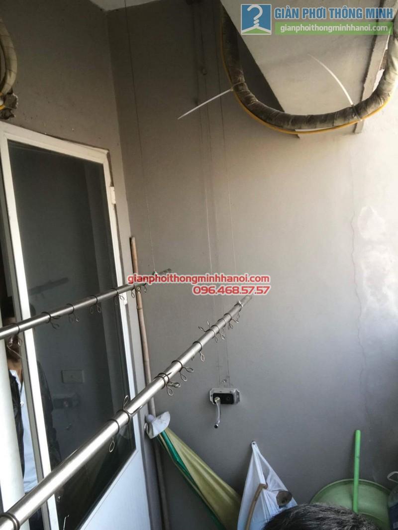 Sửa giàn phơi nhà chị Thoa, chung cư CT1 Xuân Mai Complex - 07