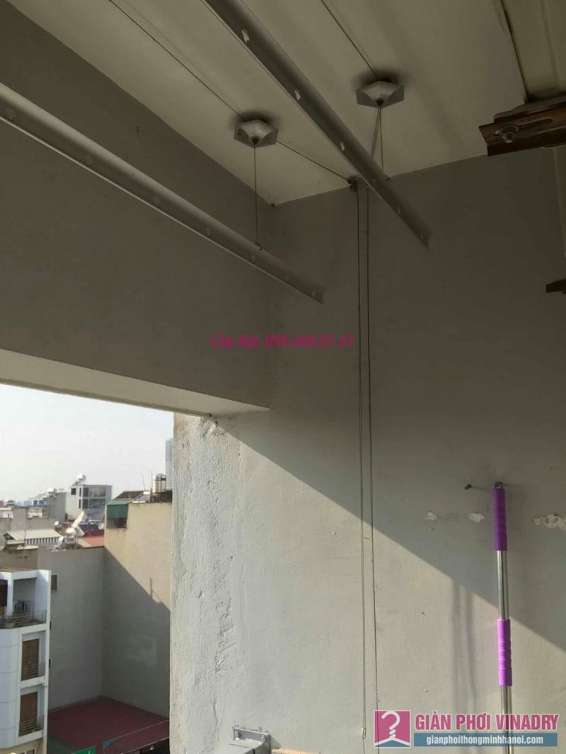 Sửa giàn phơi thông minh nhà Chị Nhâm, chung cư CT2 Ngô Thì Nhậm, Hà Đông, Hà Nội - 08