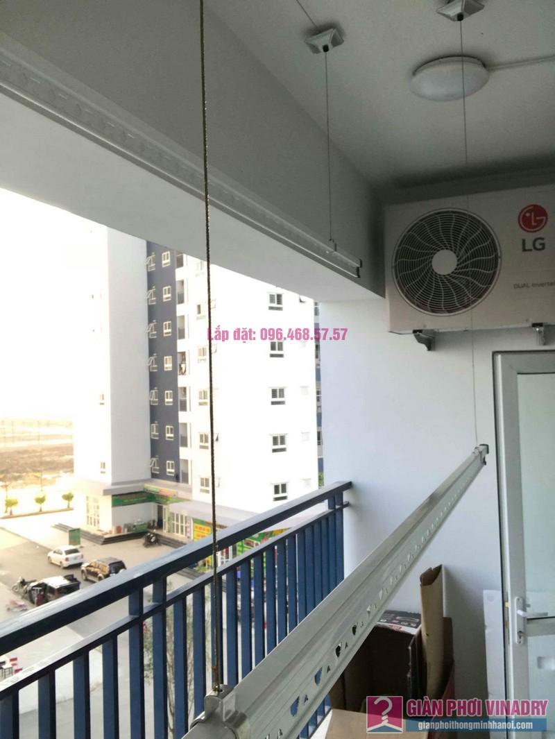 Lắp giàn phơi tay quay liền 950 nhà anh Nam, KĐT Xa La, Hà Đông - 07