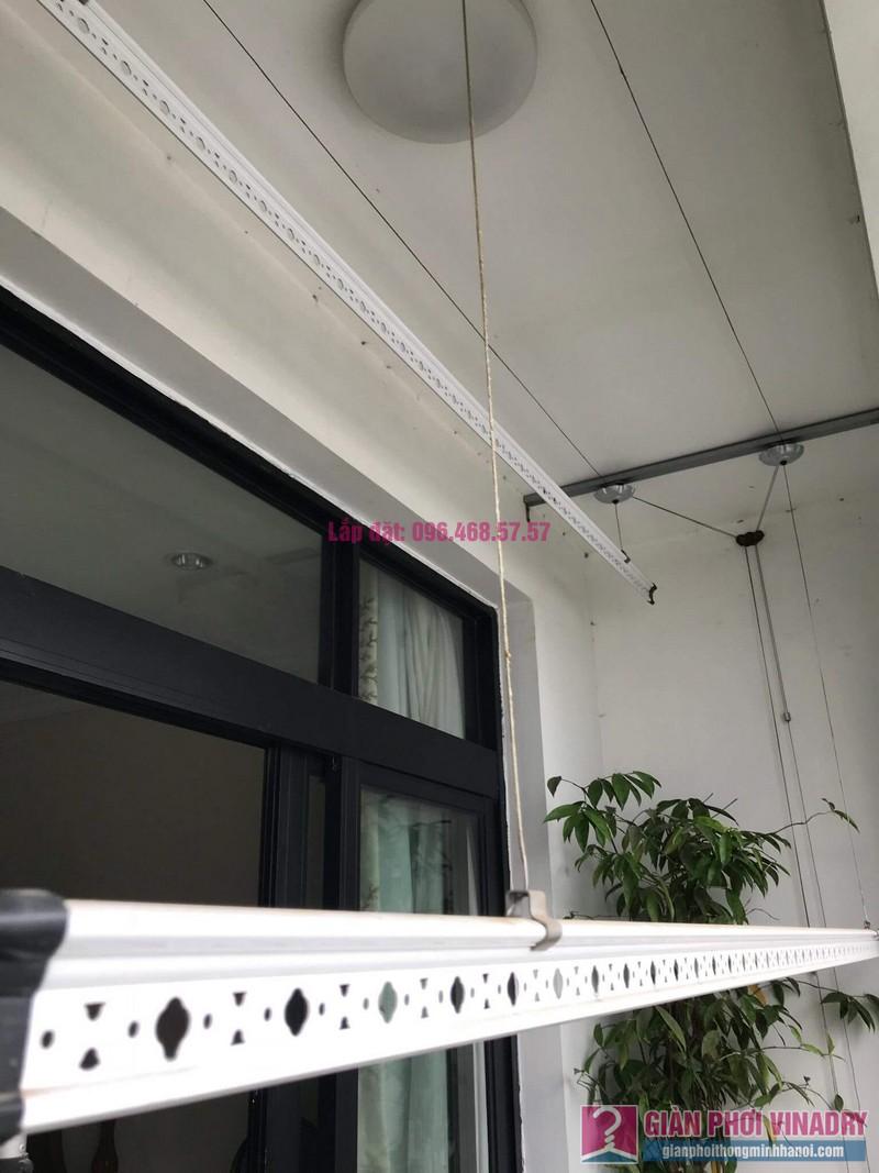 Lắp giàn phơi thông minh nhà chị Thơm, tòa R2, Royal City - 04