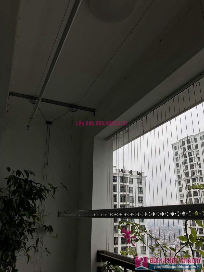Lắp giàn phơi thông minh nhà chị Thơm, tòa R2, Royal City - 05