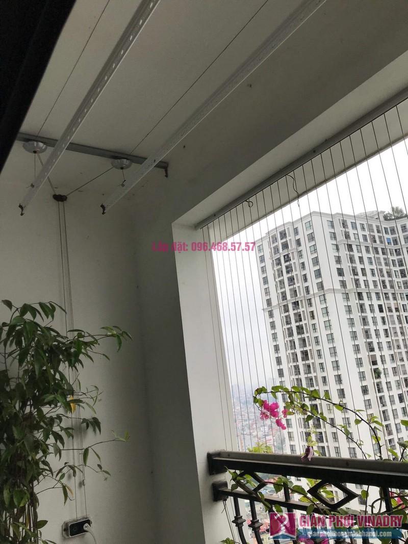 Lắp giàn phơi thông minh nhà chị Thơm, tòa R2, Royal City - 06
