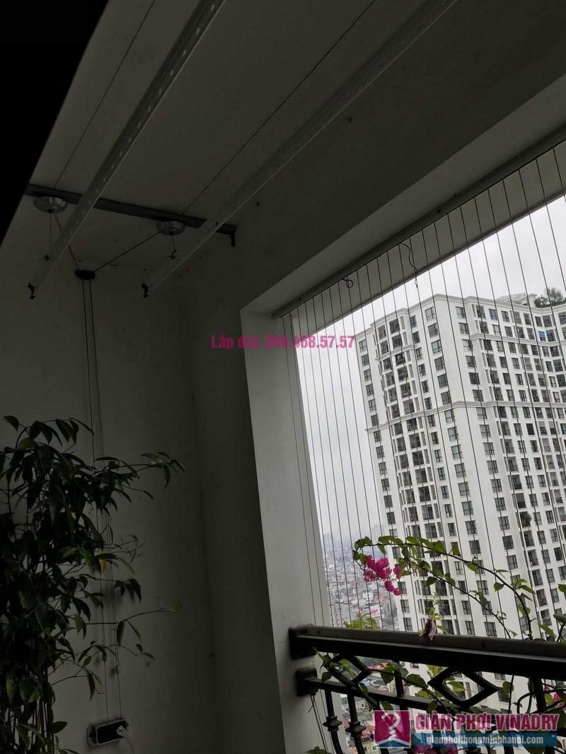 Lắp giàn phơi thông minh nhà chị Thơm, tòa R2, Royal City - 07