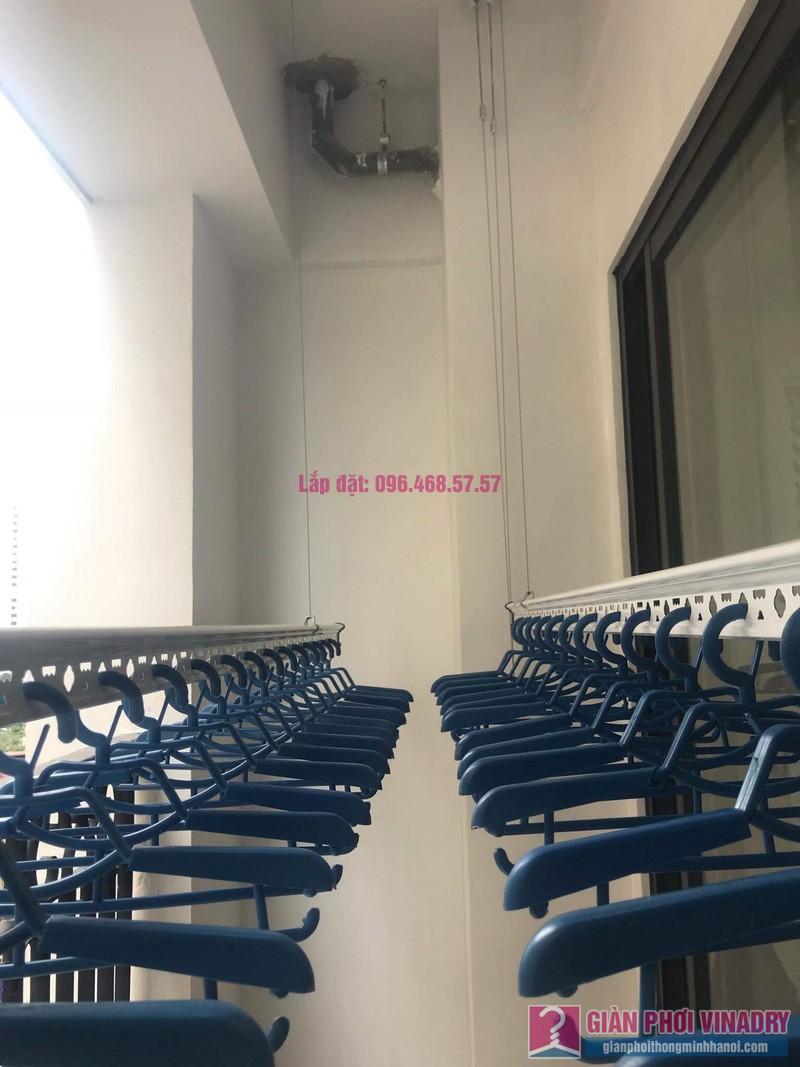 Lắp giàn phơi Hoàng Mai, nhà chị Thành, chung cư Sunshine Palace, ngõ 13 Lĩnh Nam - 01