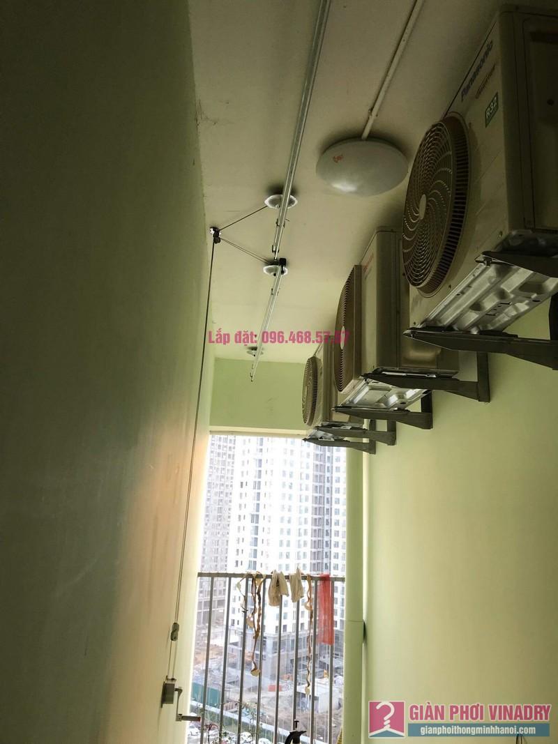 Sửa giàn phơi thông minh nhà anh Cương, chung cư Green Star. 234 Phạm Văn Đồng, Bắc Từ Liêm, Hà Nội - 01