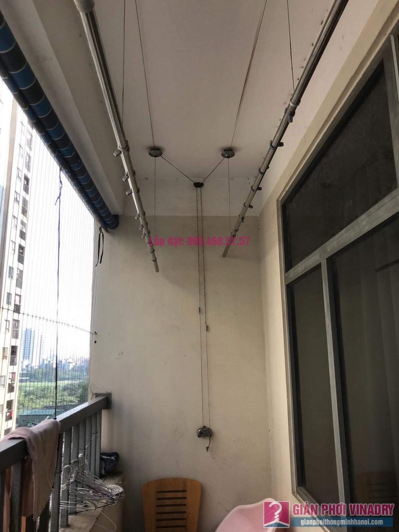 Sửa giàn phơi thông minh nhập khẩu nhà chị Thao, chung cư VOV Mễ Trì, Nam Từ Liêm, Hà Nội - 01