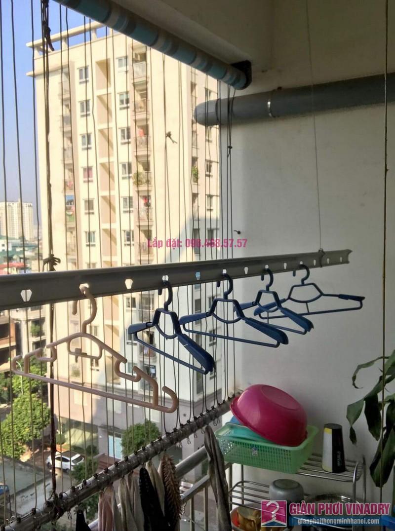 Sửa giàn phơi nhà chị Thuỷ chung cư 310 Minh Khai, Hai Bà Trưng, Hà Nội -01