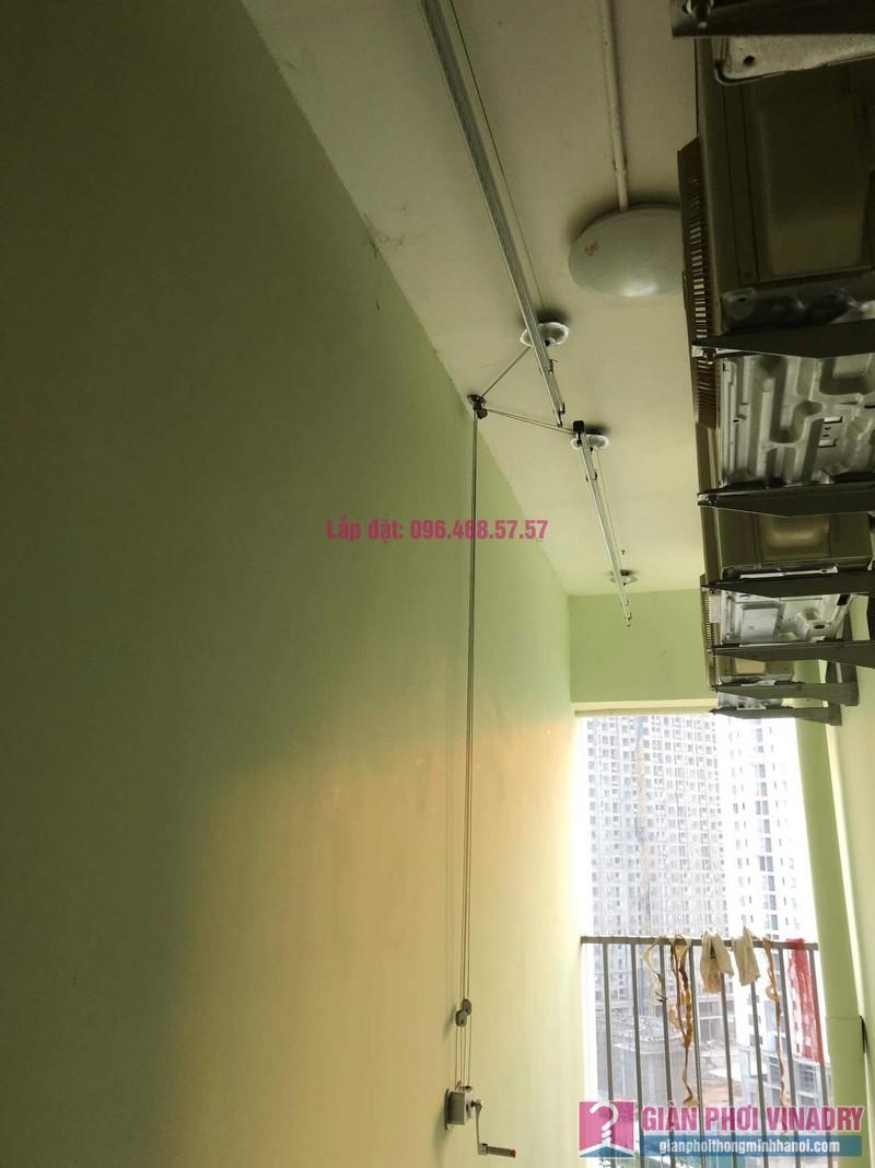 Sửa giàn phơi thông minh nhà anh Cương, chung cư Green Star. 234 Phạm Văn Đồng, Bắc Từ Liêm, Hà Nội - 02