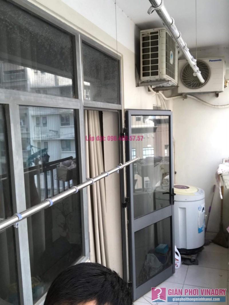 Sửa giàn phơi thông minh nhập khẩu nhà chị Thao, chung cư VOV Mễ Trì, Nam Từ Liêm, Hà Nội - 02