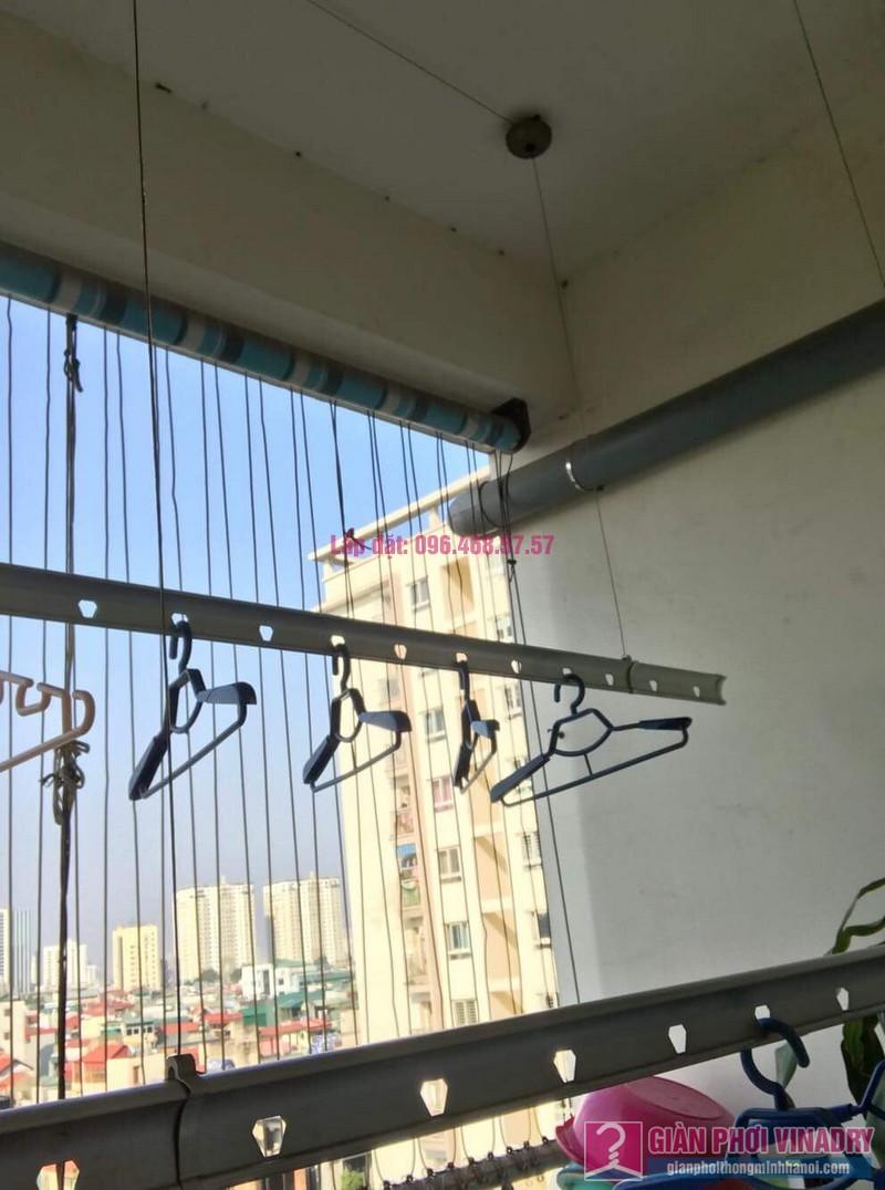 Sửa giàn phơi nhà chị Thuỷ chung cư 310 Minh Khai, Hai Bà Trưng, Hà Nội -02