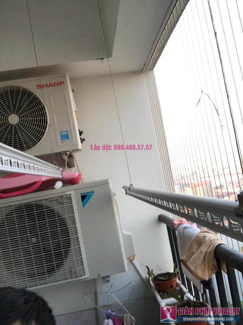 Sửa giàn phơi Hoàng Mai, nhà chị Thắm, chung cư HH3B Linh Đàm - 03