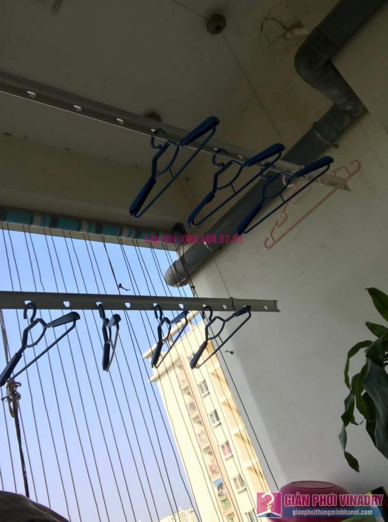 Sửa giàn phơi nhà chị Thuỷ chung cư 310 Minh Khai, Hai Bà Trưng, Hà Nội -03