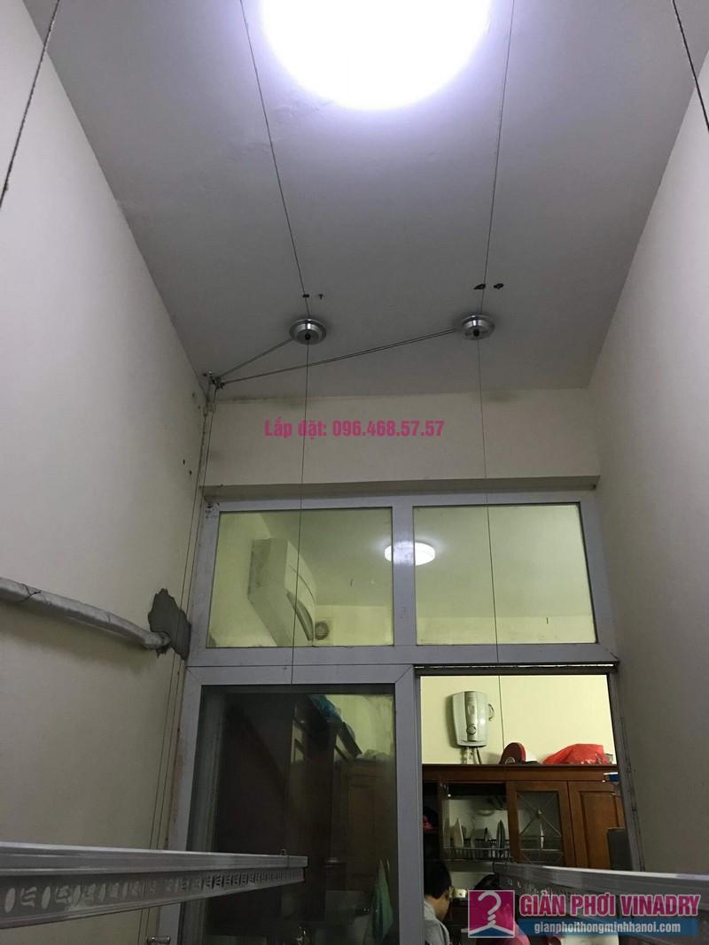 Lắp giàn phơi nhà cô Mỹ, ngõ 112 yên Duyên, Yên Sở, Hai Bà Trưng, Hà Nội - 03