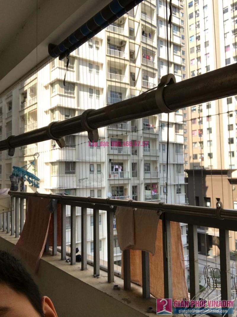 Sửa giàn phơi thông minh nhập khẩu nhà chị Thao, chung cư VOV Mễ Trì, Nam Từ Liêm, Hà Nội - 04