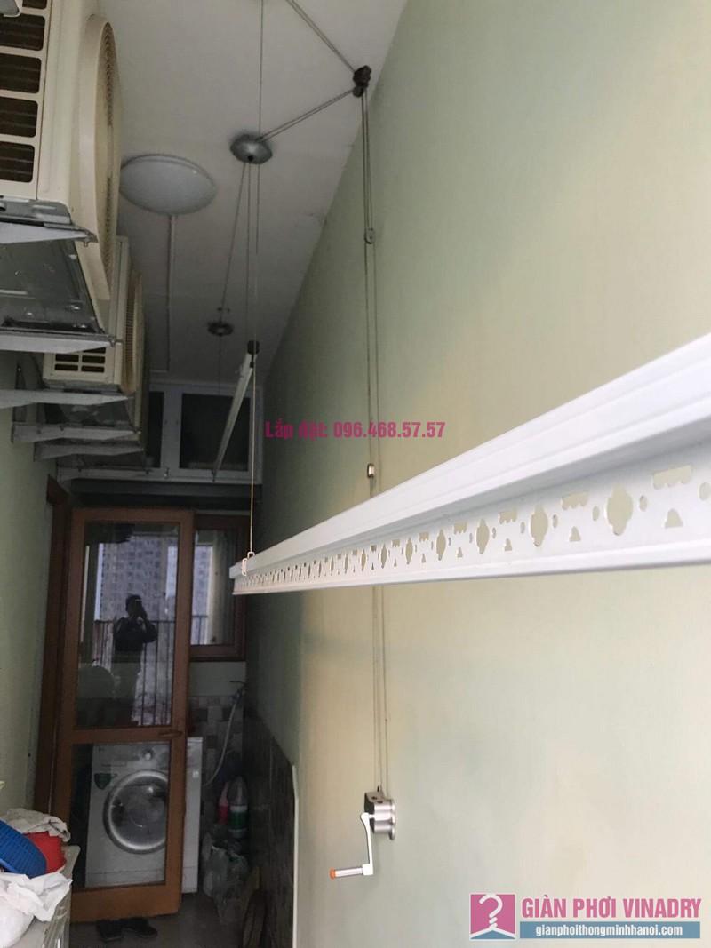 Sửa giàn phơi thông minh nhà anh Cương, chung cư Green Star. 234 Phạm Văn Đồng, Bắc Từ Liêm, Hà Nội - 05