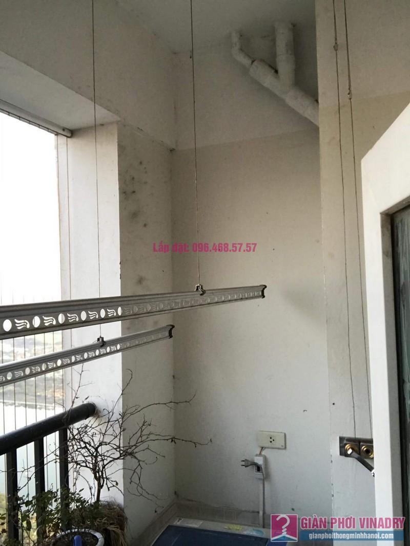 Sửa giàn phơi Hoàng Mai, nhà chị Thắm, chung cư HH3B Linh Đàm - 05