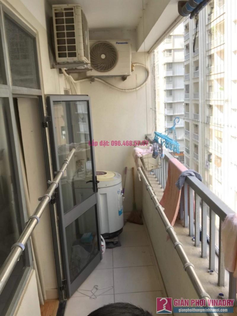 Sửa giàn phơi thông minh nhập khẩu nhà chị Thao, chung cư VOV Mễ Trì, Nam Từ Liêm, Hà Nội - 05