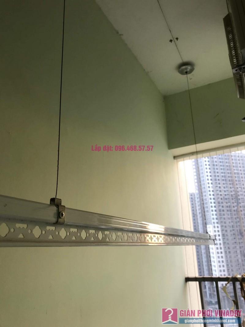 Sửa giàn phơi thông minh nhà anh Cương, chung cư Green Star. 234 Phạm Văn Đồng, Bắc Từ Liêm, Hà Nội - 06