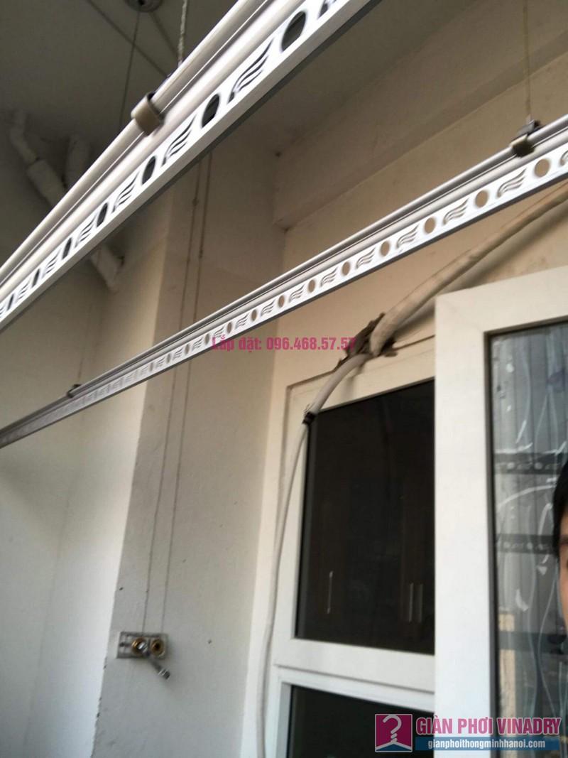 Sửa giàn phơi Hoàng Mai, nhà chị Thắm, chung cư HH3B Linh Đàm - 06