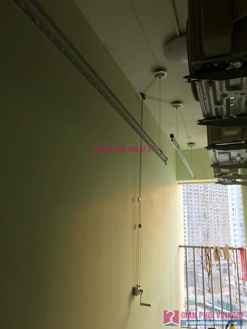 Sửa giàn phơi thông minh nhà anh Cương, chung cư Green Star. 234 Phạm Văn Đồng, Bắc Từ Liêm, Hà Nội - 07