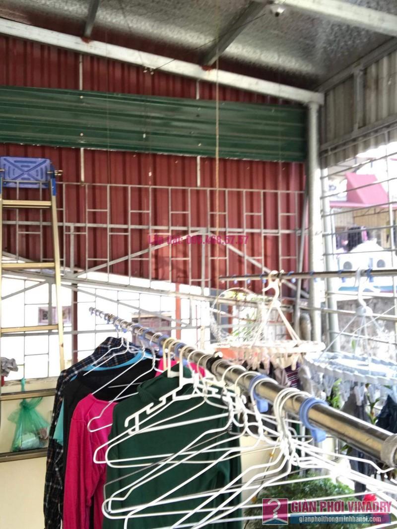 Sửa giàn phơi thông minh nhà anh Hiệp, ngõ 184 Trần Khát Chân, Hai Bà Trưng, Hà Nội - 08