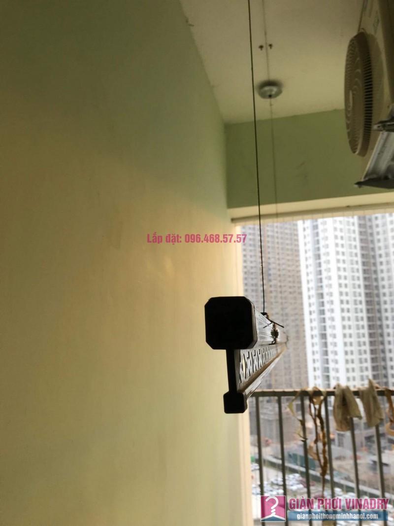 Sửa giàn phơi thông minh nhà anh Cương, chung cư Green Star. 234 Phạm Văn Đồng, Bắc Từ Liêm, Hà Nội - 08