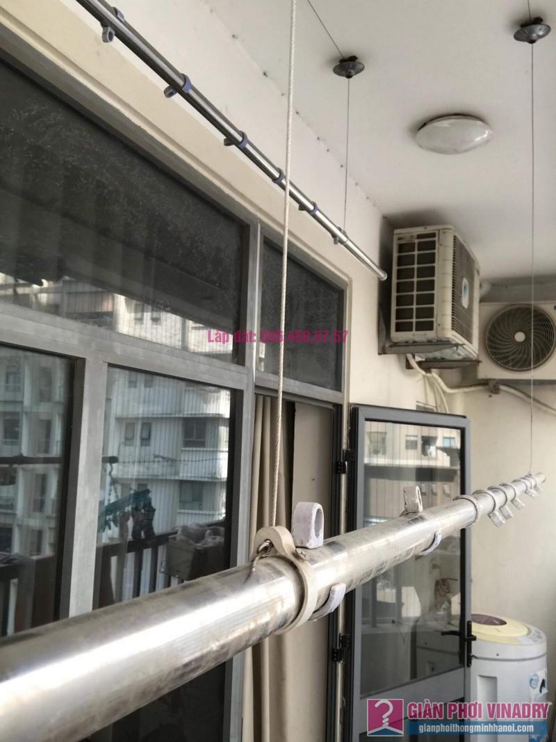 Sửa giàn phơi thông minh nhập khẩu nhà chị Thao, chung cư VOV Mễ Trì, Nam Từ Liêm, Hà Nội - 08