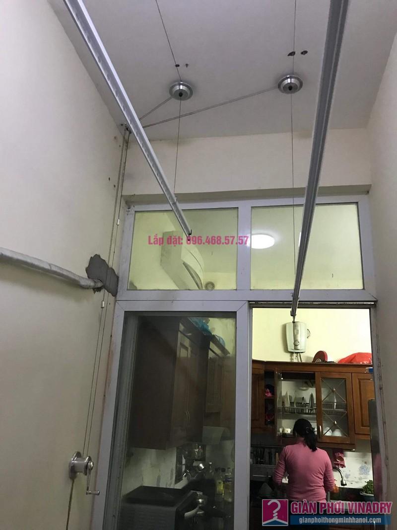 Lắp giàn phơi nhà cô Mỹ, ngõ 112 yên Duyên, Yên Sở, Hai Bà Trưng, Hà Nội - 08