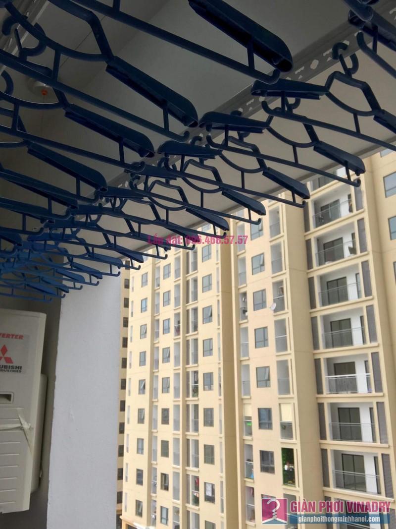 Lắp giàn phơi Hoàng Mai, nhà chị Thành, chung cư Sunshine Palace, ngõ 13 Lĩnh Nam - 09