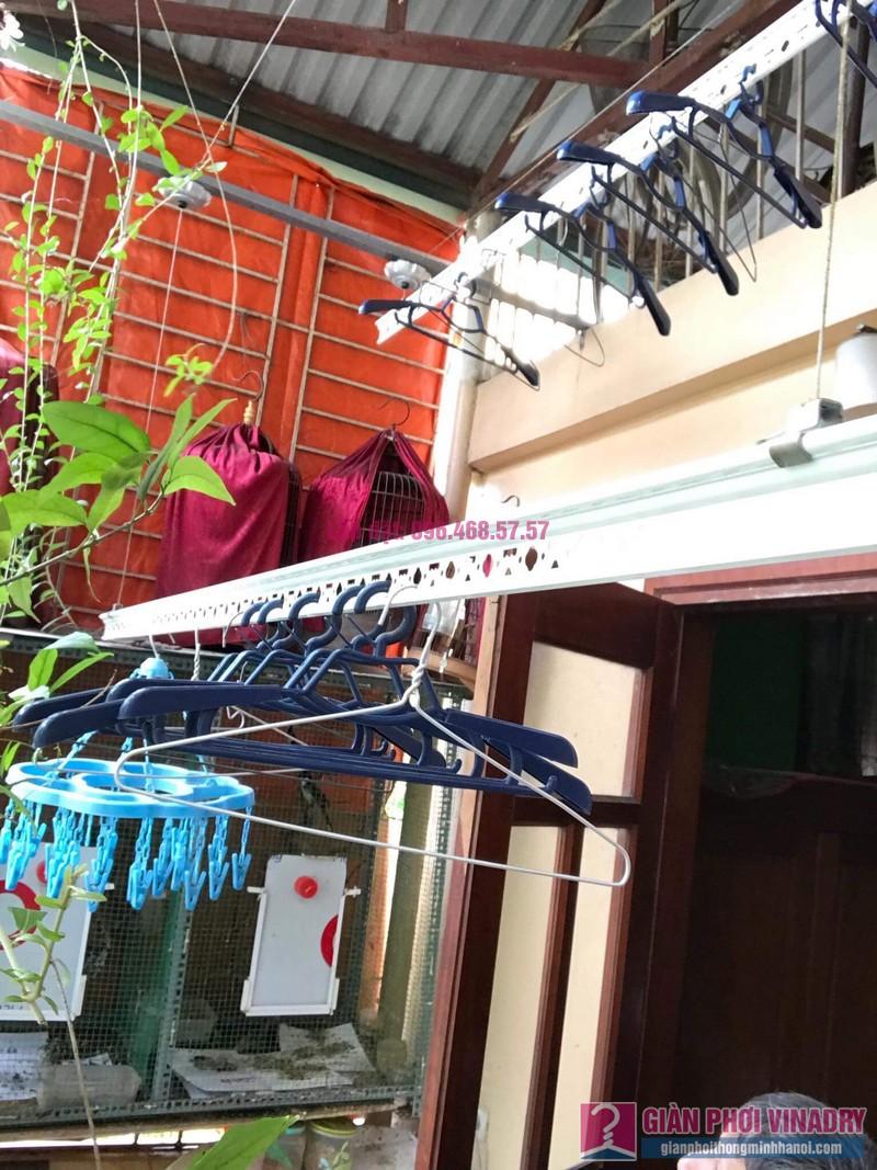 Sửa giàn phơi nhà chú Tuấn, ngõ 161C Đại La, Hai Bà Trưng, Hà Nội - 03