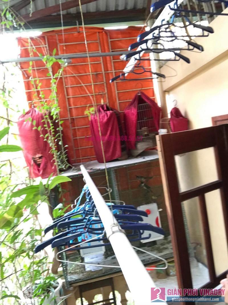 Sửa giàn phơi nhà chú Tuấn, ngõ 161C Đại La, Hai Bà Trưng, Hà Nội - 04