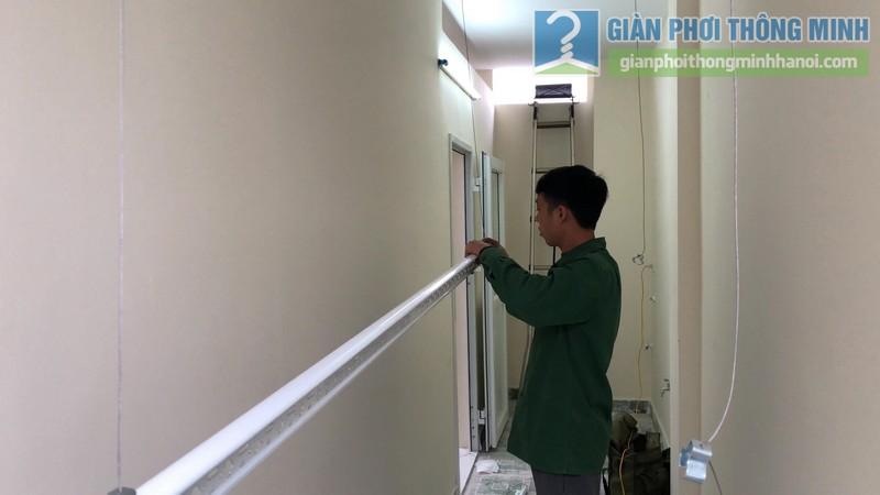 Lắp giàn phơi Hòa Phát Air 701 nhà chị Cúc, Hà Đông, Hà Nội - 04